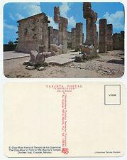 27958-chac-mool-templo de lote míticos-Chichen Itza-vieja postal