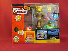 2003 Playmates The Simpsons The Collector's Lair Interactive Enviornment Set MIB