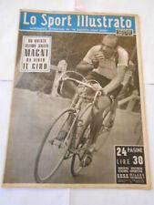 LO SPORT illustrato n.24 del 14 - giugno -1951 - MAGNI ha vinto il giro