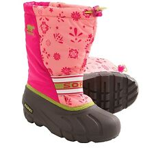 6 M Youth SOREL CUB PINK Winter Snow Boots Waterproof Insulated -- Women's 7.5 M