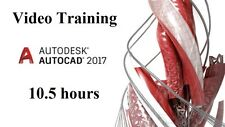 Learning Autodesk AutoCAD 2017 - 10.5 hours Video Training