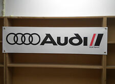 Audi Sport banner for the workshop or garage, UR quattro, S1, sport..  etc
