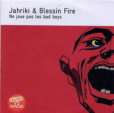 JAHRIKI & BLESSIN FIRE - rare CD Single - France - Acetate