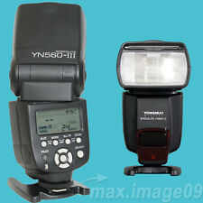 YONGNUO Flash Unit Speedlite YN560 III for Canon Nikon Sony Fujifilm Panasonic