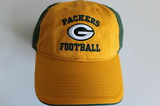 Green Bay Packers NFL Football  Cap Kappe One Size Slouch flach geschnitten