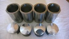 RENAULT 17 GORDINI ALPINE 1600 S EUROPA TO 1800CC FORGED PISTON AND LINER SET!