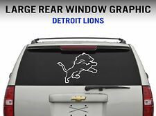"Detriot Lions Window Decal Graphic Sticker Car Truck SUV - Large 22"" Wide"