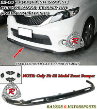 11-16 Toyota Sienna SK-Style Front Lip (Urethane) [SE Model Only]