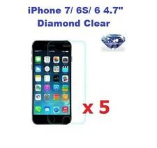 "5 X iPhone 7/ 6S/ 6 4.7"" Bling Diamond Sparkling Glitter Screen Protector"
