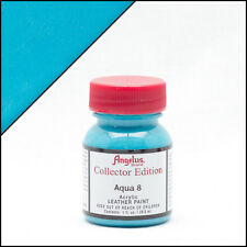 New Angelus Brand Acrylic Leather Paint for Shoes / Sneakers - Aqua 8 - 1oz