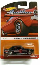 Hot Wheels Nissan Skyline 2000GT-X (Hako) Redline