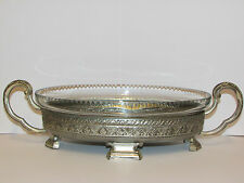 Vintage Lovely Candy Dish With Metal Stand