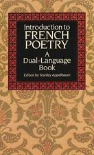 Introduction to French Poetry Dual-Language English and French Edition