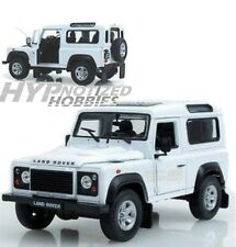WELLY 1:24 LAND ROVER DEFENDER DIE-CAST WHITE 22498