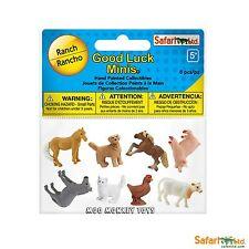 RANCH FUN PACK  Safari Ltd Good Luck Minis #100107 mini farm animals  NEW 2017