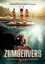 Zombeavers (DVD,2015) from the creators of cabin fever & the ring,same day ship