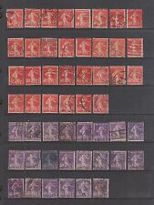 FRANCE Used #178 (30) & #179 (22) SOWERS SCV $44.00