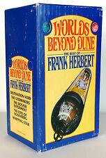 Worlds Beyond Dune : The Best of Frank, Herbert Boxed Set of 5 books, RARE