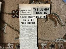 k2-2  ephemera 1966 article juke box jury behind the scenes