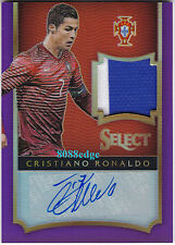 2015-16 SELECT 2CL PATCH AUTO: CRISTIANO RONALDO #1/7 AUTOGRAPH PORTUGAL/MAN UTD