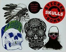 Stickerbomb Skulls New Paperback Book Studio Rarekwai