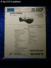 Sony Service Manual ZS X3CP Audio System (#6132)