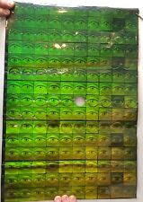 """Psychedelic Eyeball Hologram Sticker Proof Sheet 18x12"""" Approx. 150 Stickers"""