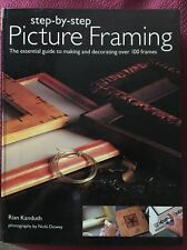 Step By Step PICTURE FRAMING Book How To Make Them By Rian Kanduth