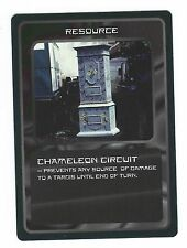 Doctor Who Black Border CCG Card Chameleon Circuit Resource Card Good Condition