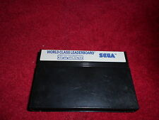 WORLD CLASS LEADERBOARD CARTRIDGE ONLY SEGA MASTER SYSTEM