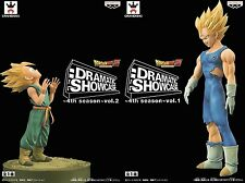 Banpresto DragonBall Z Dramatic Showcase 4th Season Vegeta Trunks Figure x 2 Set