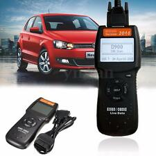 D900 Vehicle OBD2 EOBD OBD 2 Car Fault Code Reader Diagnostic Scanner Scan Tool