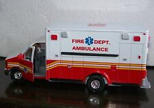 1:43 Ford E350XL Ambulance Fire Department Paramedic Van
