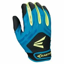 Easton HF3 Woman's SMALL Fastpitch Gloves Black/Teal/Optic Yellow, new