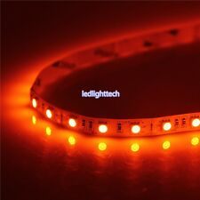3.28FT 5050 Orange LED Strip 1M 60 LEDs SMD Lights Lamp NON-Waterproof 12V DC