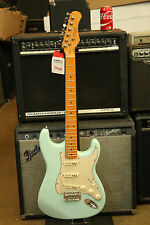 *NEW* Stagg SES50-M Blue Standard Electric Guitar w/ S Style Bridge **M**