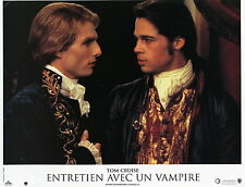 TOM CRUISE BRAD PITT  INTERVIEW WITH THE VAMPIRE 1994 VINTAGE LOBBY CARD #1