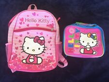 Hello Kitty Backpack Insulated Lunch Cooler Bag Sanrio Cosplay Kawaisa Japan
