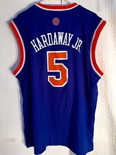 Adidas NBA Jersey New York Knicks Tim Hardaway JR. Blue sz S