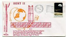 1970 SERT II Test Two Electrin Bombardment Ion Engines Mercury Vandenberg Apollo