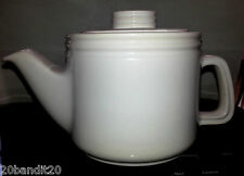 BEAUCEWARE CARTIER PTARMIGAN BLANC  POTTERY POTERIE TEA POT THEIERE No C-61