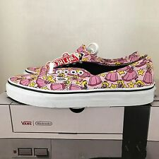 VANS AUTHENTIC NINTENDO PRINCESS PEACH WOMENS SIZE 9.5 NEW IN BOX