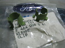 TC TD MK3 XLE CORTINA GENUINE FORD NOS H/BRAKE CABLE TO BACKING PLATE CLIPS  X2