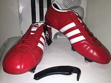 Adidas AdiPure Soccer Cleats SG KaKa IV TRX Red / White / Black  Size 10.5