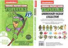 Brother SANICKNT Nick Teenage Mutant Ninja Turtles PES Machine Embroidery CD