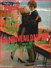 ▬►Flash Nous Deux 1079 (1968) CLAUDE DAUPHIN_MICHÈLE MERCIER_ADAMO_DALIDA