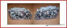 Headlight Kit chrome Volvo S40 V40 Built 00-02 (Double reflector)