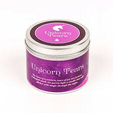 Unicorn  tears handmade Scented candle rainbow unicorn gift magic candle disney