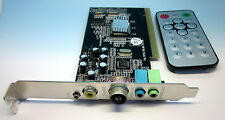 Internal TV Tuner MPEG Video Capture PC PCI Card PAL BG PAL I NTSC SECAM System