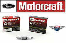 8 Motorcraft Spark Plug SP514 with Dielectric Grease & Anti-Size Lubricant